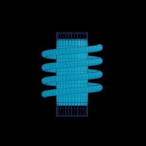 Illustration Wärmebehandlung eines Werkstücks