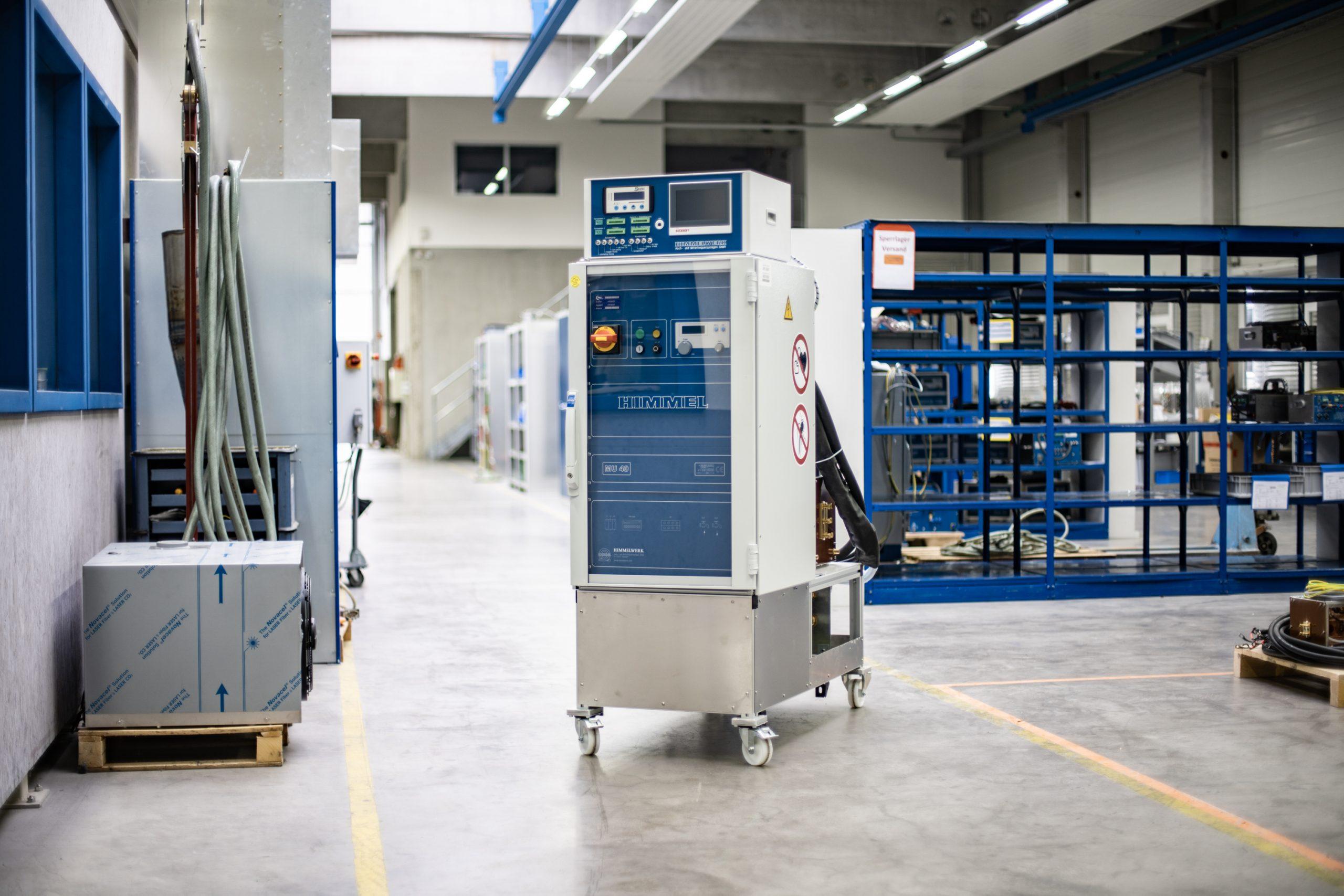 Smart Upgrade auf Umrichter in Werkshalle