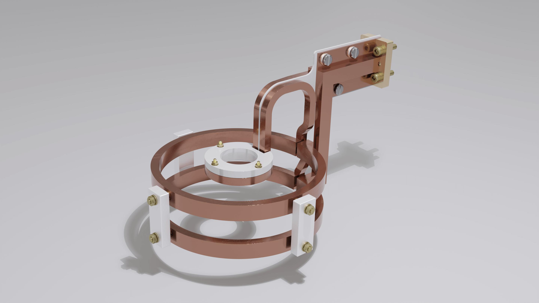 Kreisförmiger Induktor mit Innenring