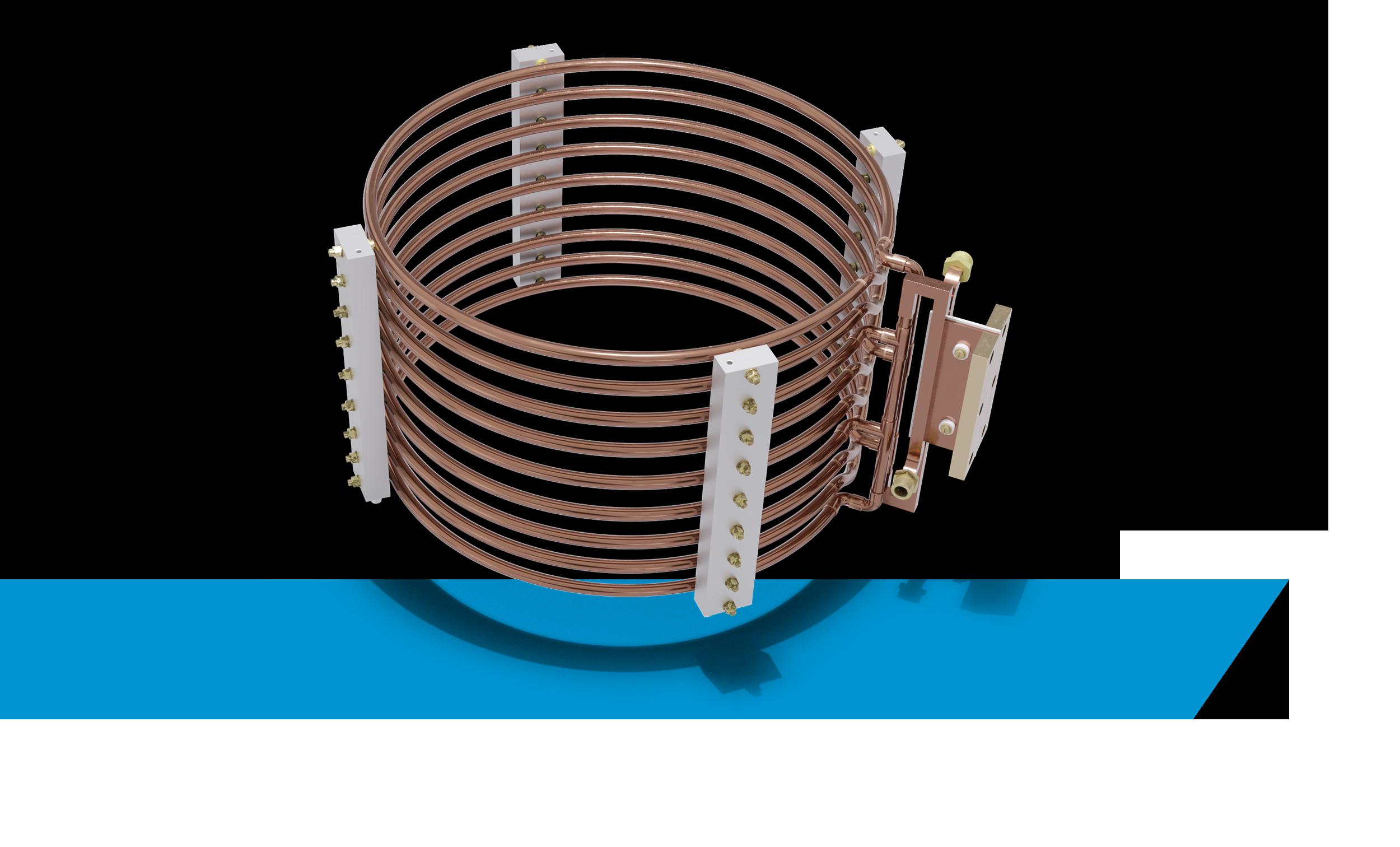 Ringförmiger Induktor mit mehreren Kreisen