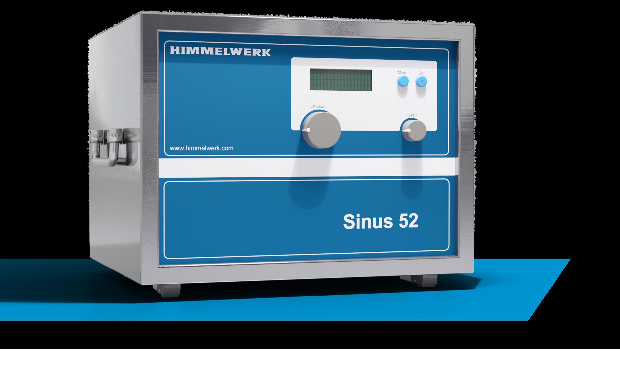 Hochfrequenzgenerator Sinus 52