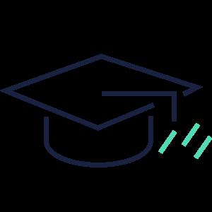 Grafik Diplommütze