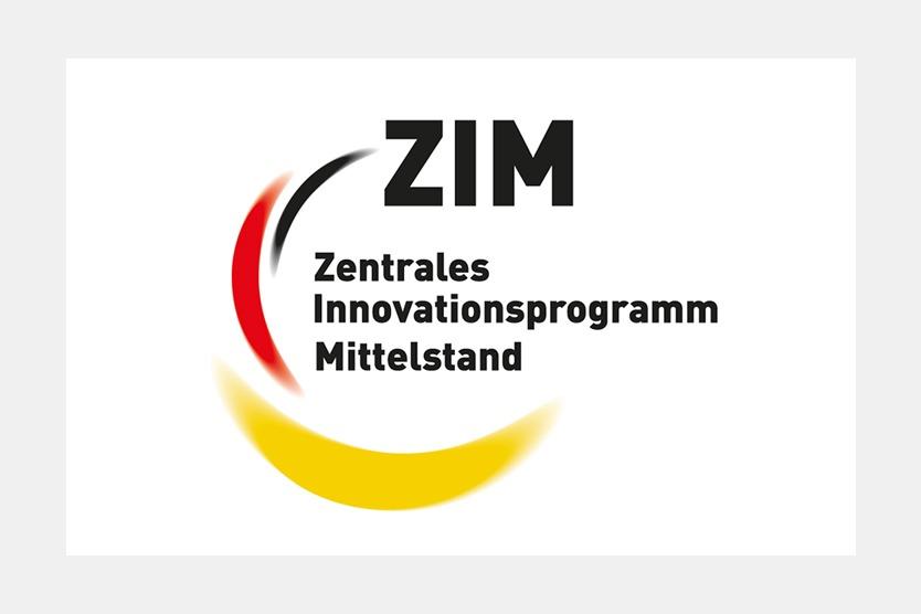Logo ZIM Zentrales Innovationsprogramm Mittelstand