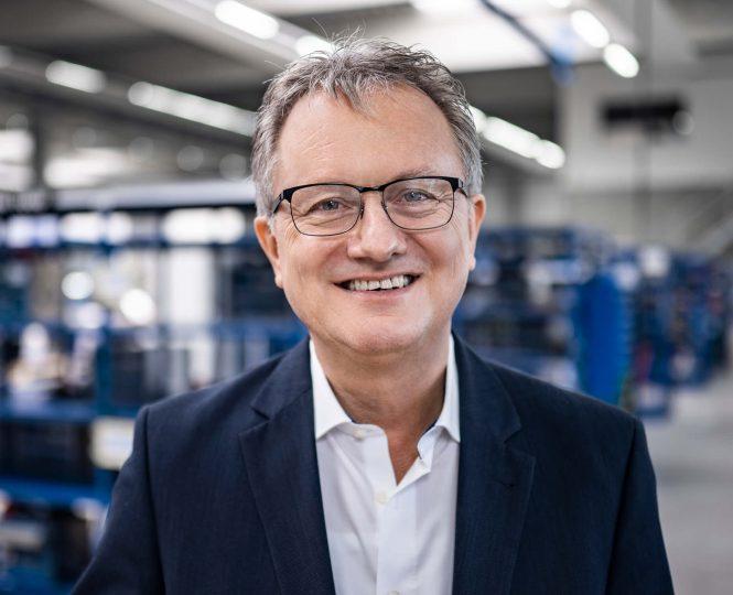 Karl Hirsch, technischer Leiter Himmelwerk